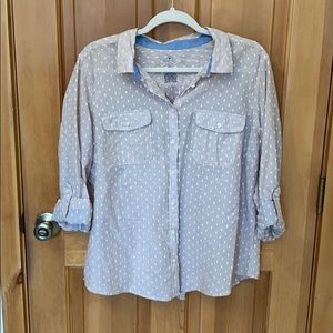 Women's St Johns Bay button down shirt